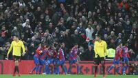 Palace move out of relegation zone after stoppage time comeback win over Watford