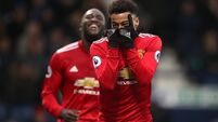 Man Utd survive scare to see off West Brom