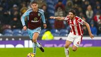 Fourth-placed Burnley pile misery on Stoke with late winner