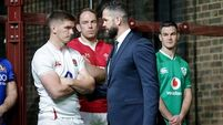 Andy Farrell quickly puts his business face on