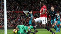 Frustrated Man United slip to third in the Premier League