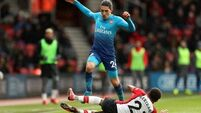 Arsenal salvage a point at Southampton