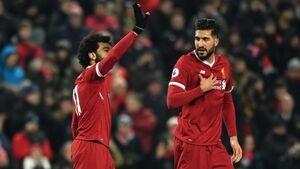 Mohamed Salah on target again as Liverpool beat Newcastle to go second