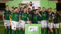 Cork City top off win over Bray with trophy presentation
