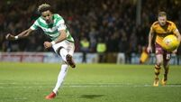 Late penalty brings dramatic end to Celtic's clash with Motherwell