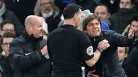 Chelsea boss Antonio Conte charged with misconduct after being sent off