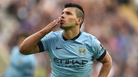 Aguero savours moment after breaking Manchester City goal record