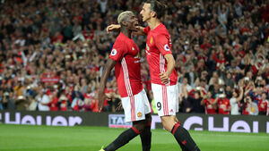 Zlatan Ibrahimovic and Paul Pogba in contention for tomorrow's game