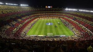 Nou Camp may be temporarily closed if fans found guilty of insulting chants