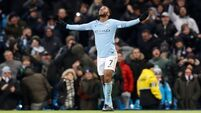 Injury-time clincher from Sterling secures win for Manchester City over Southampton