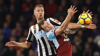 Victory over Newcastle moves Burnley up to seventh