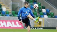 Simon Grayson has no issue with Paddy McNair being in Northern Ireland play-off squad