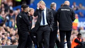 Ronald Koeman tight-lipped over his future at Everton