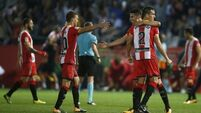 Girona deal major blow to champions Real Madrid with 2-1 victory