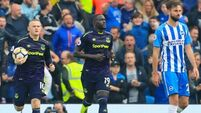 Rooney late penalty sees Everton snatch a point at Brighton