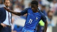 Barcelona sign 20-year-old Ousmane Dembele for €105m