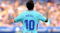 Lionel Messi scores 350th LaLiga goal in Barcelona win over Alaves