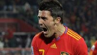David Villa gets first Spain call-up in three years