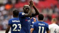 Chelsea beat Tottenham in their first league game at Wembley