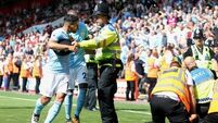 Sergio Aguero facing police probe after steward alleges he was assaulted