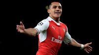 Alexis Sanchez poised to return for Arsenal at Anfield