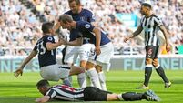 Newcastle's return to Premier League ruined by Tottenham