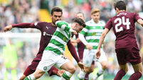 Celtic suffer blow to hopes of Patrick Roberts return