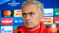 Jose Mourinho admits Man Utd still trail Europe's elite
