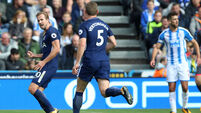 Harry Kane steals show as Tottenham stroll to 4-0 win over Huddersfield