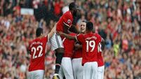 Manchester United beat Everton 4-0