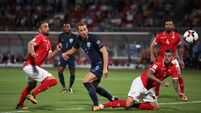 Late flurry secures win for underwhelming England in Malta