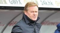 Everton's Koeman issues 'wake up call' after disappointment against Atlanta