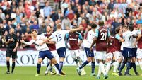FA charge Hammers and Spurs over stoppage time tussle at London Stadium