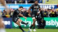 Late penalty gives Clermont win over Saracens