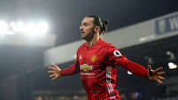 Zlatan Ibrahimovic named in Man Utd's Champions League squad