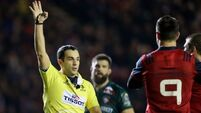 Johann van Graan hails great night for Munster as Tigers boss says: 'I won't comment on officials'