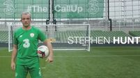 Irish fans get to see Stephen Hunt score amazing goal during their dream call-up at the Aviva