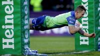 Matt Healy scores four of Connacht's seven tries in easy win over Brive