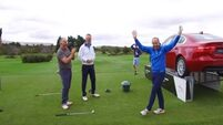 Cork golfer wins new Jaguar after scoring a hole-in-one