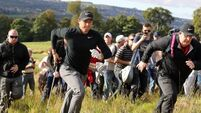 McIlroy feeling positive after British Masters first round
