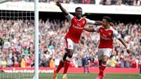 Brace from Danny Welbeck eases growing pressure for Wenger and Arsenal