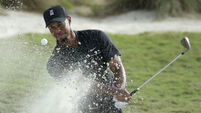 Tiger Woods happy with 'great' round as he finishes three under par on return