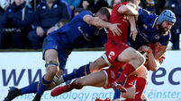 Leinster edge Scarlets in absence of Irish and Welsh stars