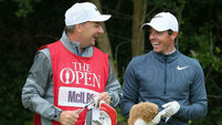 Rory McIlroy retains best friend Harry Diamond as caddy for 2018