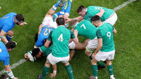60-second report on Ireland's big win over Italy