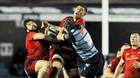 Cardiff hold on for impressive win against Munster