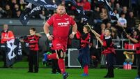 Samson Lee's first try in over 100 appearances claims victory for Scarlets over Ospreys