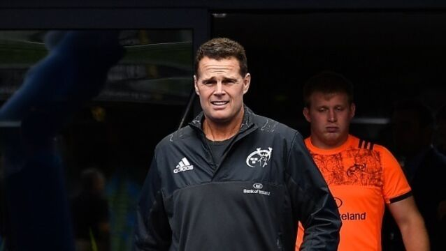 'It's not nice to come here and lose' says Rassie Erasmus after Munster defeated by Leinster
