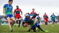 Adeolokun's early hat-trick sees Connacht finish Pool 5 in style