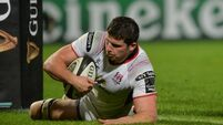 Ulster score eight tries in demolition of Dragons
